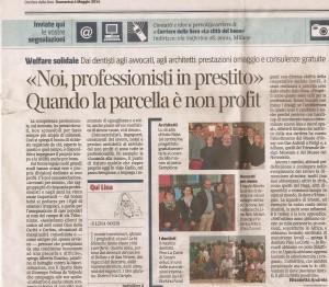 articolo corriere 4 maggio alta